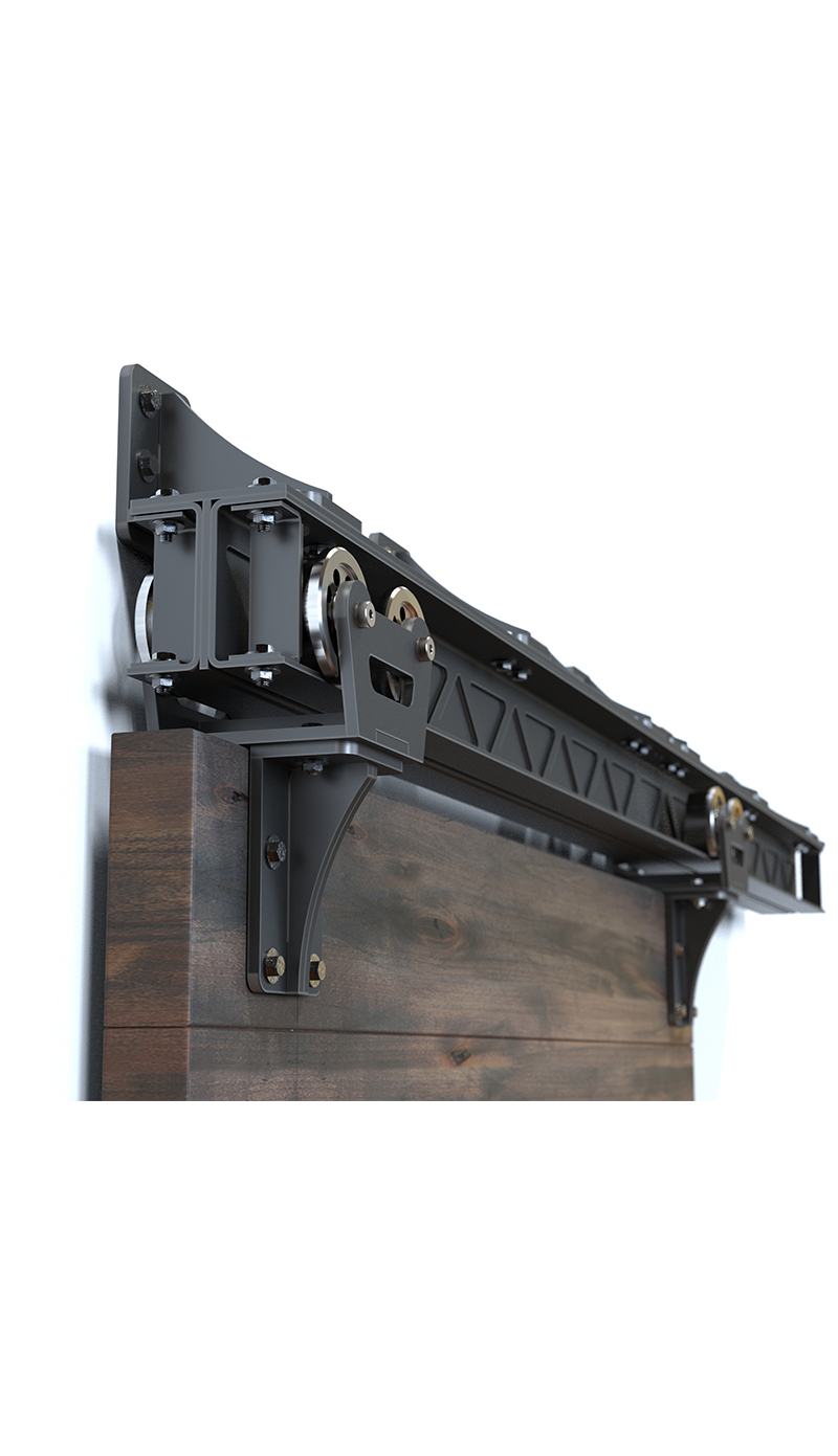 Heavy Duty Barn Door Hardware I Beam Trolley Rustica