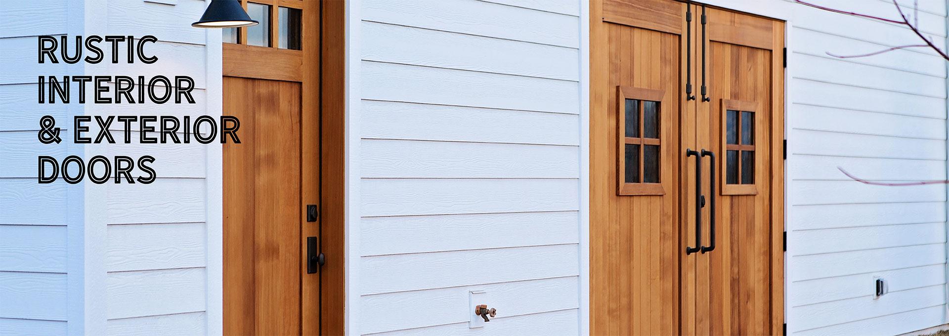 Custom Doors Interior Exterior Wood More Rustica Hardware