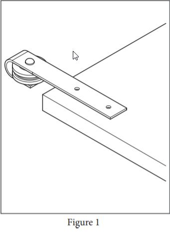 Stag hanger installation step 1