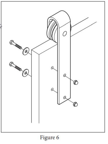 Stag hanger installation step 6