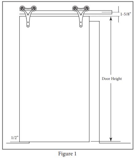 Contour Hanger install step 1