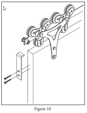 Cellar Hanger install step 26