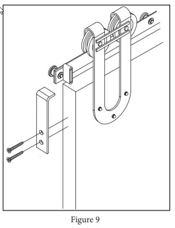 Draft Hanger install step 15
