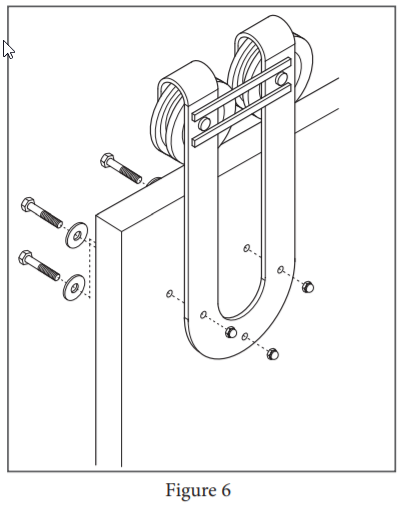 Draft Hanger installation step 6