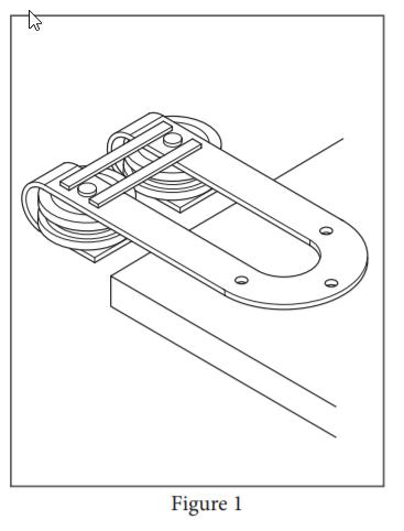 Draft Hanger installation step 1