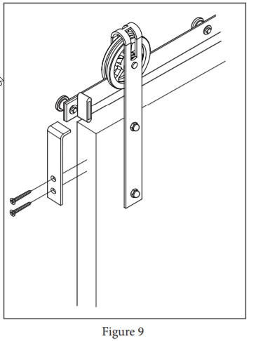 Spoked Garrick Hanger install step 15