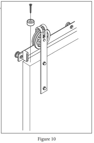 Spoked Garrick Hanger install step 26