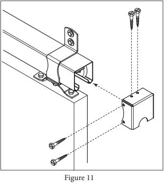 Box Track Hanger install Figure 11