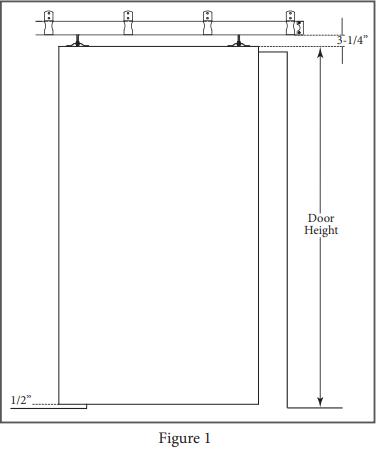 Box Track Hanger install Figure 1