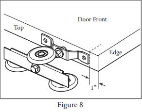 Box Track Hanger install Figure 8