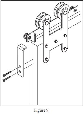 Garrick Hanger install step 18