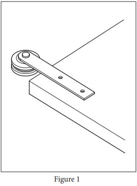 Reflex hanger install step 1