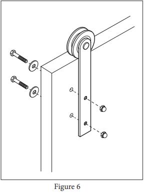 Reflex Hanger assembly step 6