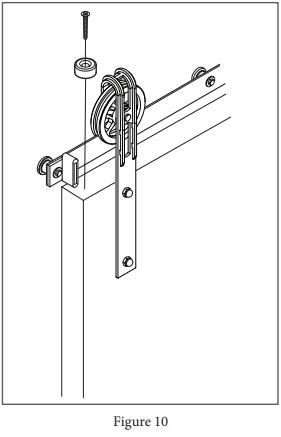 Spoked Marksman Hanger install step 16