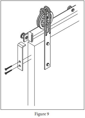 Spoked Marksman Hanger install step 15