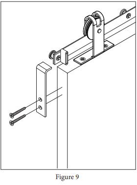 Top Mount Garrick Hanger install step 15