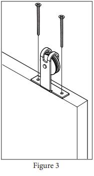 Top Mount Garrick hanger install step 3