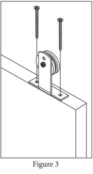 Top Mount Ultra Modern hanger install step 3