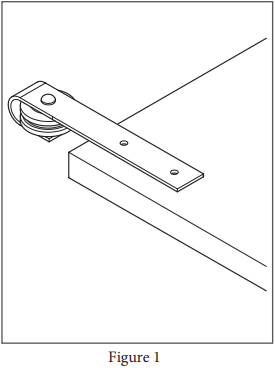 Mini Industrial hanger install step 1