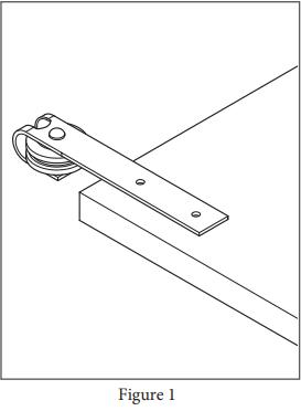 Mini Garrick hanger install step 1