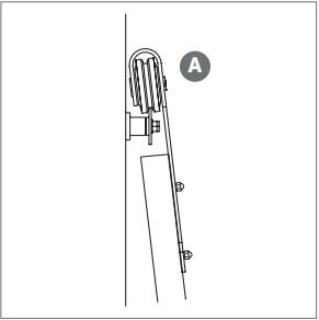 Outdoor Rated Barn Door Hanger install Fig 7