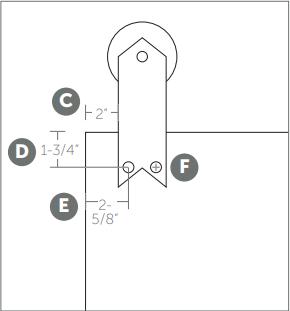 Ribbon hanger install Fig 2