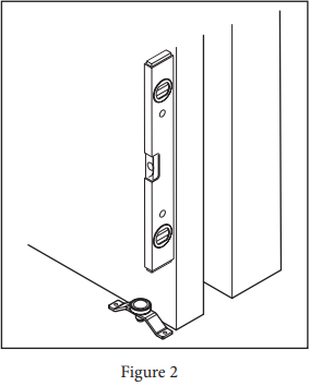 Floor Mount Roller Door Guide Fig 2