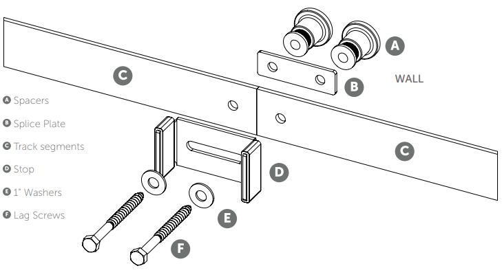 Flat Track Splice Fig 1