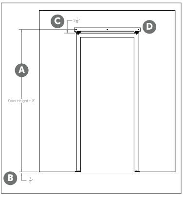 Bi-fold System install Fig 1