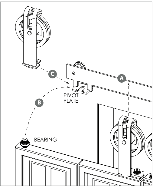 Bi-fold System install Fig 6