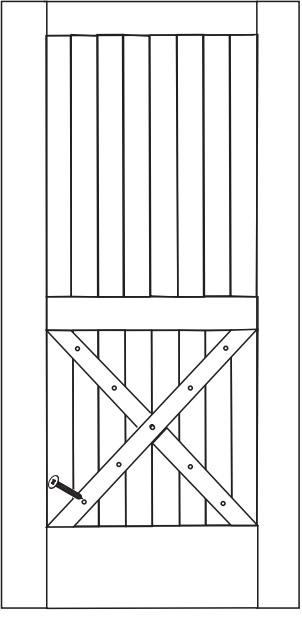 Rockwell Half X Door Fig 1