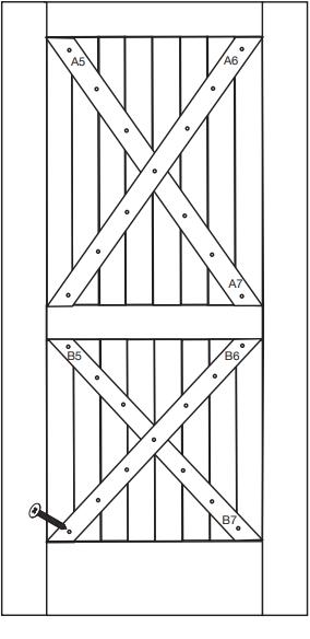 Rockwell Double X Door Fig 1