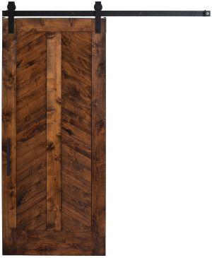 Heartland Chevron Barn Door