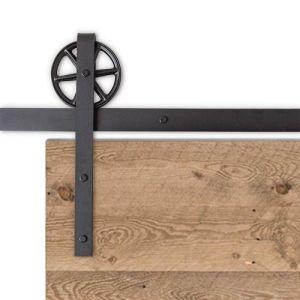 Traditional Barn Door Hardware - Big Wheel