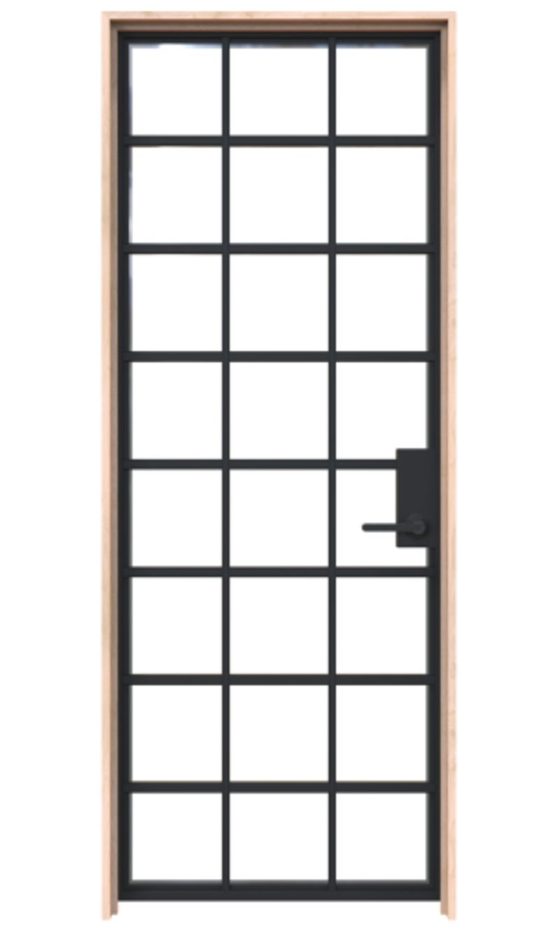 Tillage Exterior Door