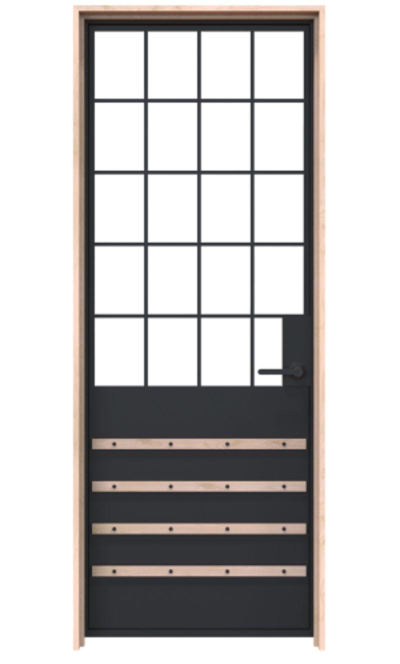 Lander Exterior Door