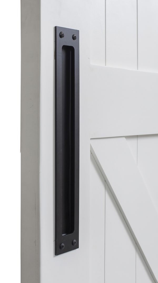 Modern Flush Barn Door Pull