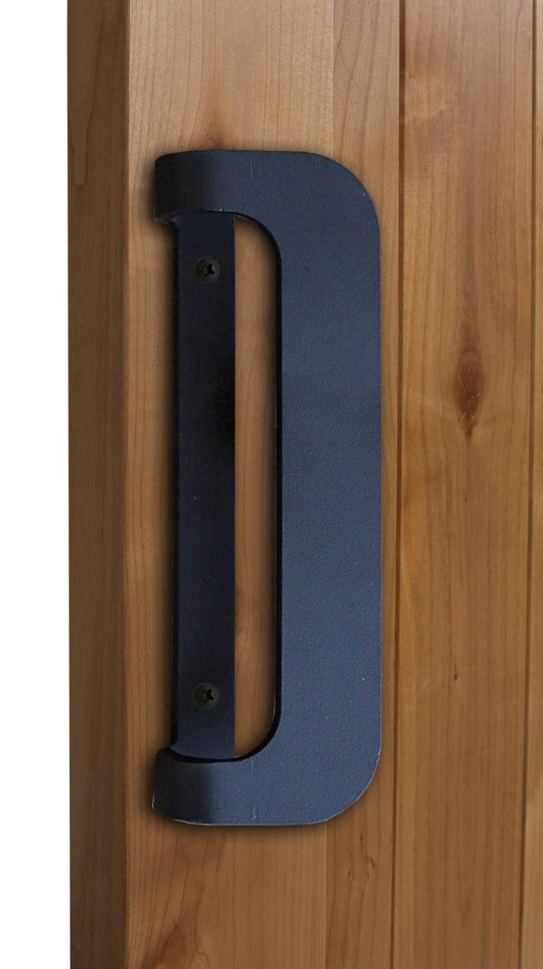 Reversible D Barn Door Pull