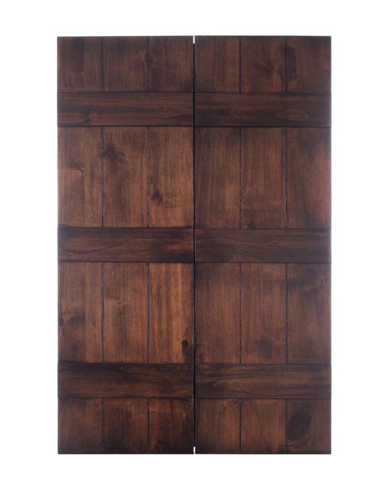 Solid Wood Medicine Cabinet