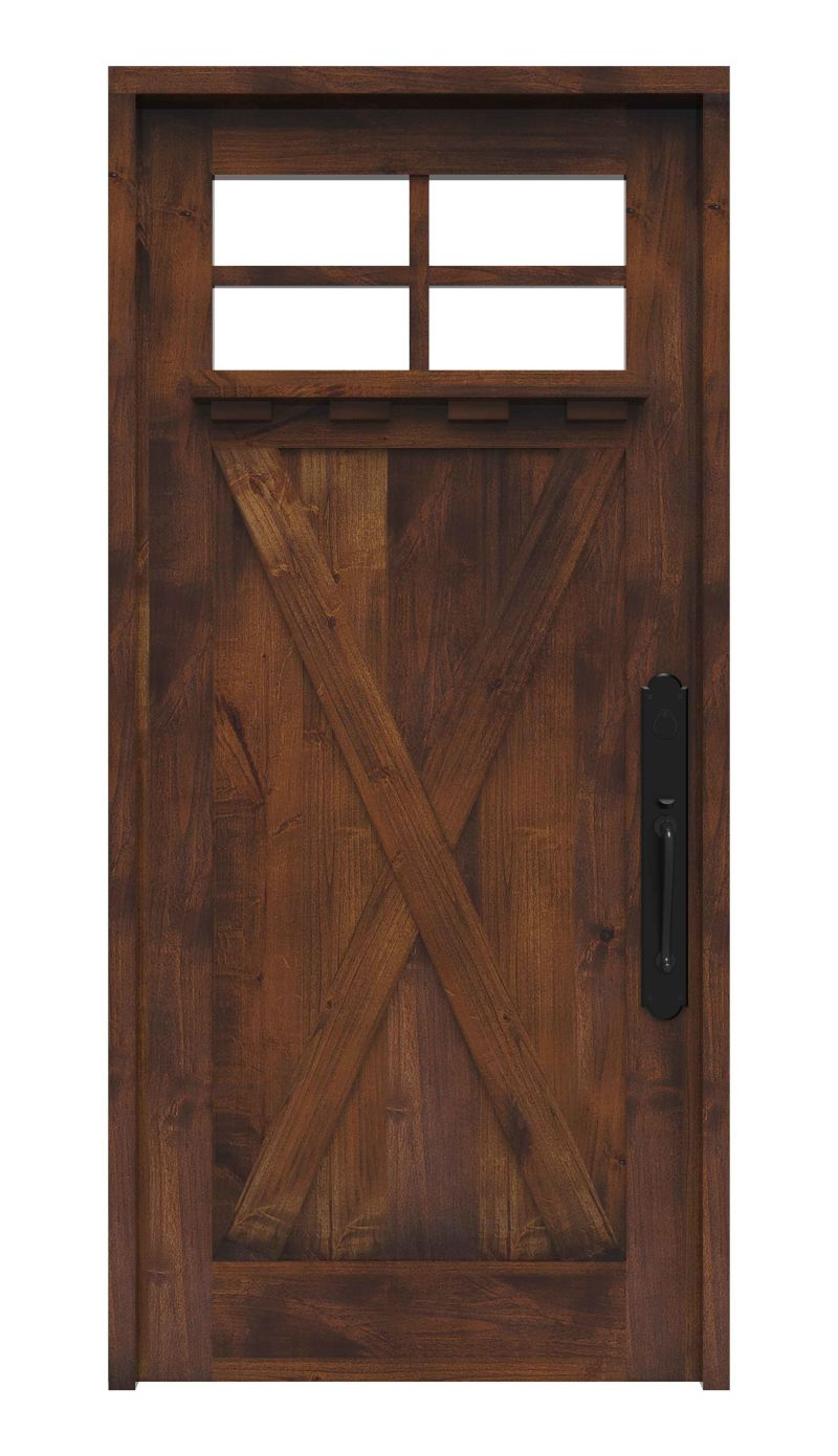 Hobble Creek Front Door With Shelf
