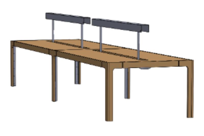 Kiln Club Desk