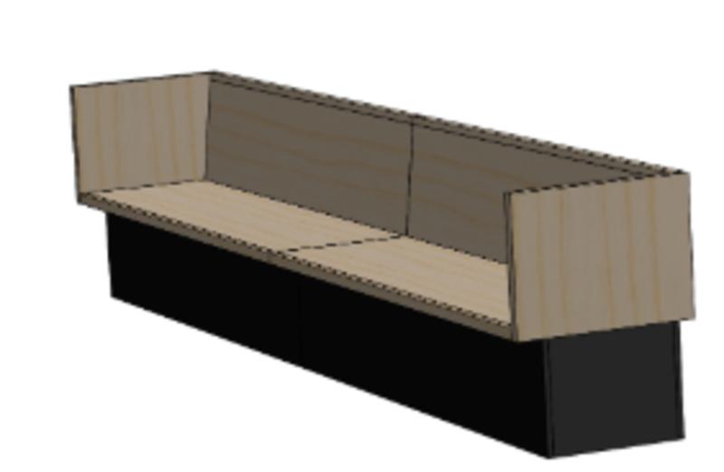 Kiln Box Bench