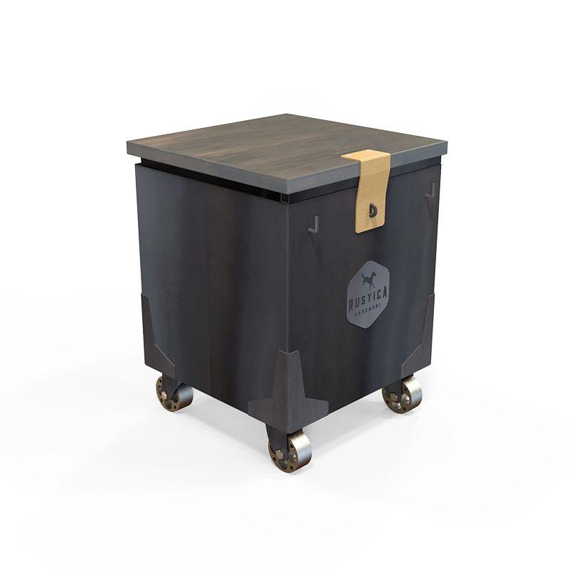 Amigo Wood Storage Cabinet & Stool
