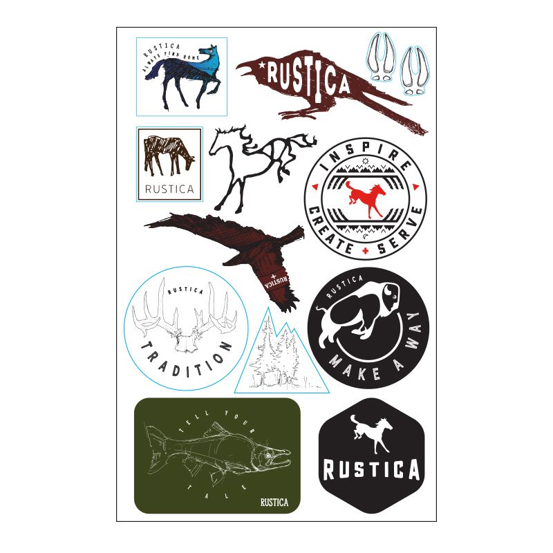 Purchase Rustica Hardware Soul Stickers