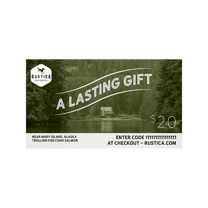 Rustica Hardware $20 Gift Card