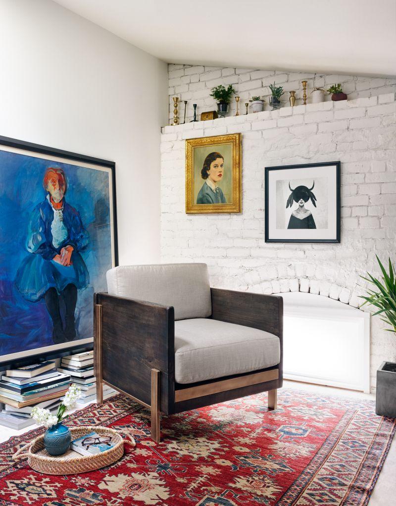 Woodrow Box Armchair