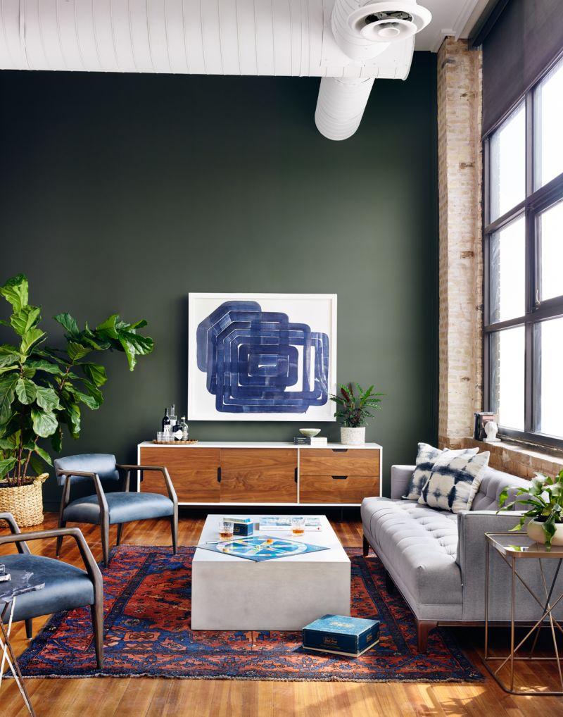 Dylan Mid Century Modern Sofa
