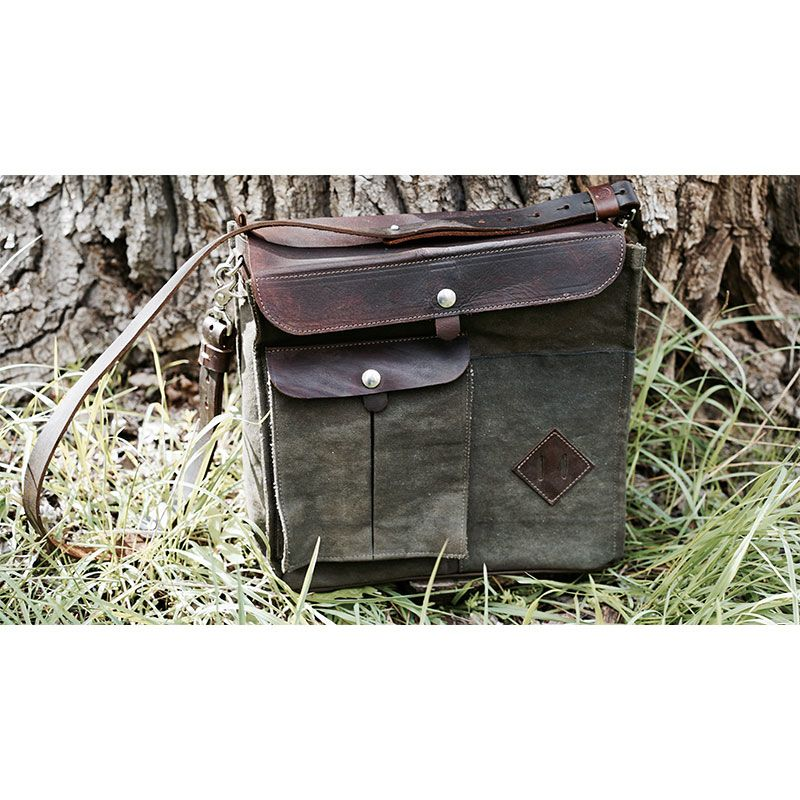 Rustic Rider Satchel Bag