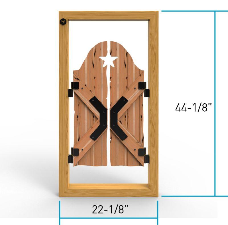 Saloon Adoorable Door