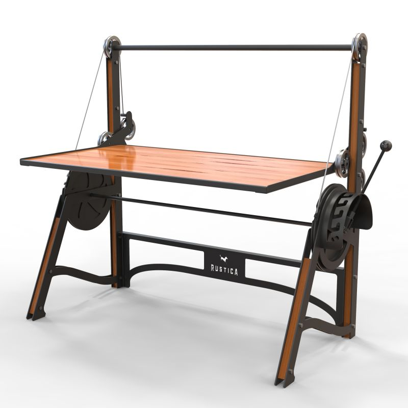 Cranky Height Adjustable Desk